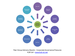 Corporate Governance Pressures - CEO Peer Group Support